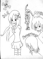 DLS, Peregrinny, and Naru by drasticslostsoul