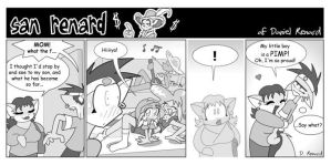 San Renard the comic strip 16 by san-renard