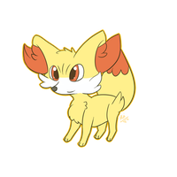 Fennekin by Cpt-Mini
