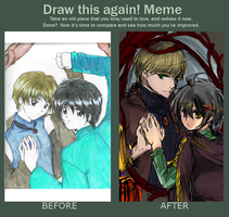 Meme: Before and After by Inami