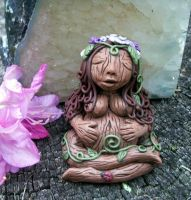 Beltane Blessings Goddess by NalinaRoseStudio