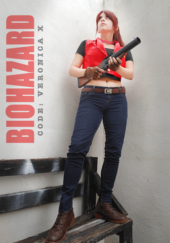 Claire Redfield cosplay - RE Code Veronica X by VickyxRedfield
