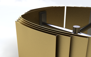 Gold Plate Construction by Zortje