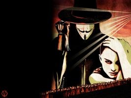 V for Vendetta . by Gukei