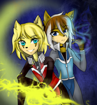 Lightning twins by ShawtyWhiite