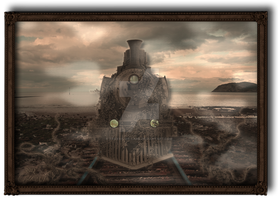 Steampunk Locomotive 002 [UPDATE] by Travail-de-lame