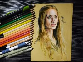 Cersei Lannister by Williaaaaaam