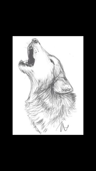 Wolf Howling by OmegasOnTheMoon