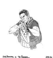The Punisher:Bernthal by angryrooster