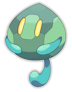 Endorr, Fractured Fakemon by Smiley-Fakemon