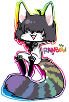 RAINBOWU by alpacasovereign