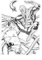 SPIDERMAN X OCTOPUS by lenocarvalho