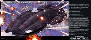 The Forgotten Ones - Galactica Over Caprica by stourangeau