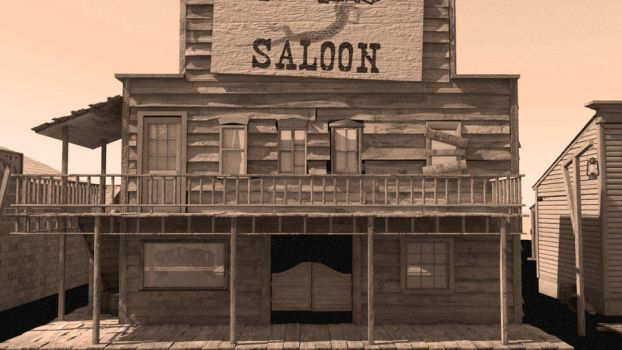 Saloon Front by bdagger