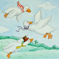 The Goose That Flew Backwards by tlagrange