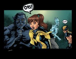 Xmen panel practice by sonicboom35