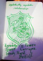Slytherin Crest by vifetoile