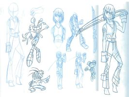 Fusionfall contest roughs by SycrosD4