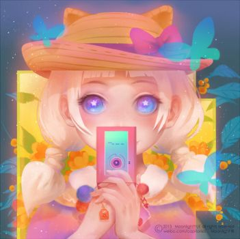 Sweet candy phone by MoonlightYUE