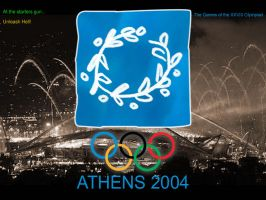 Athens 2004 - Go the Aussies! by phantomcameron