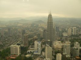 Up in KL Tower by H4henry