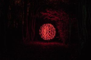 Red Globe in Hayhead by Grunvald