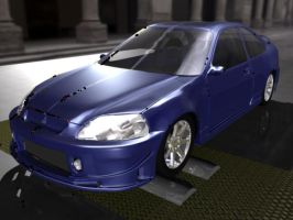 Honda Civic Front End -wip- by crazzehtimmeh