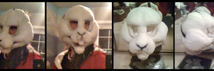 Lop-eared Rabbit WIP by Tsebresos