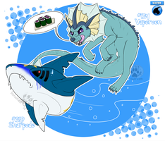 Pokedex Challenge: Day 18-Water by NightTwilightWolf