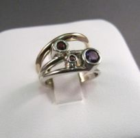 Two-Toned Custom Ring by GipsonDiamondJeweler