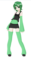 Vocaloid OC by Teggles
