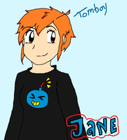 Jane Tomboy by Drizzle-The-Glaceon