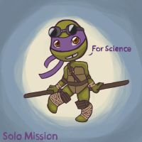 Solo Mission Chapter 6 Donnie Sketch by unluckyduckie