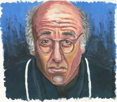 Larry David by livneeson