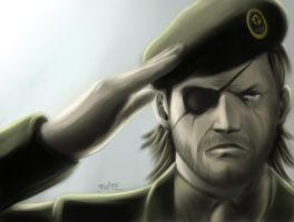 Metal Gear Solid 3 - Big Boss by JMatheus