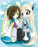 Candy and Nadja :: Collab by SweetChibi