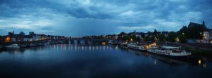 Maastricht panorama by SoLoveIsPunk
