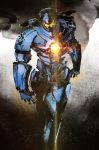 GIPSY DANGER by ikuyoan