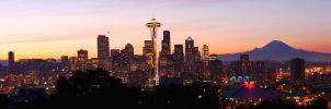 Seattle Panoramic 1 by photoboy1002001