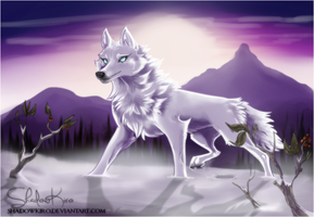 Tundra Wolf by ShadowKiro
