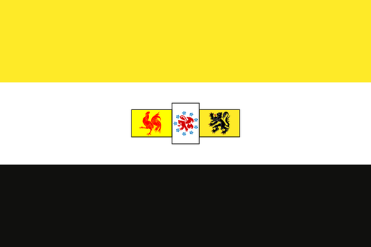 South African Style Belgium Flag by zalezsky