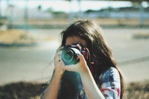 me and my camera by lupi321