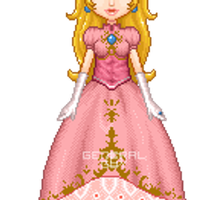 Princess Peach SSBM by General-Guy