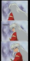 Inuyasha What you lookin at? by Francinexxx