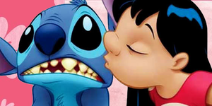 Lilo and Stitch Kiss by PrincessSarahEm