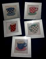 Cup Coasters by Tishounette