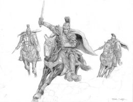 Better Roman Riders by sebadorn