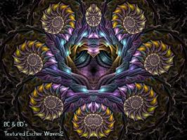 BC and BD's Textured Escher by Fractal-Resources