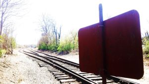 Out of Use Railroad by brickwallsam