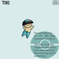 Fakemon_Tiki by EmeraldSora